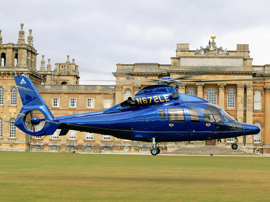 Helicopter Transfers - DC Chauffeur Drive