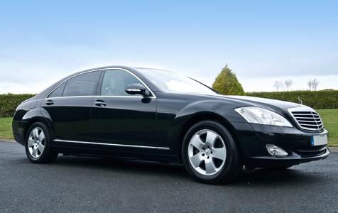Black 3 Seater Mercedes