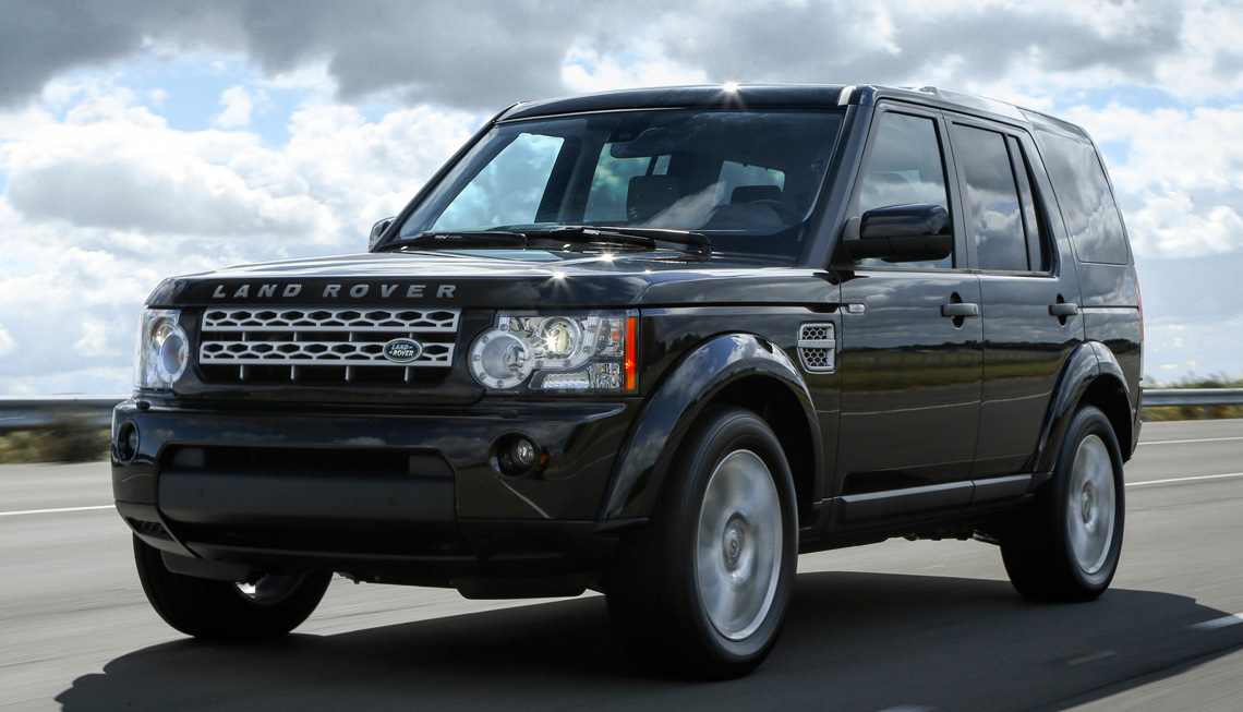 Land Rover Discovery - DC Chauffeur Drive